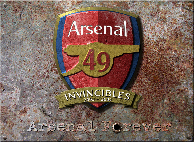 Arsenal Invincibles Wallpaper (small)
